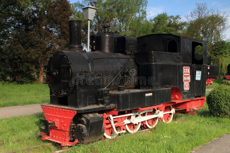 локомотивный поезд пара стоковое изображение rf