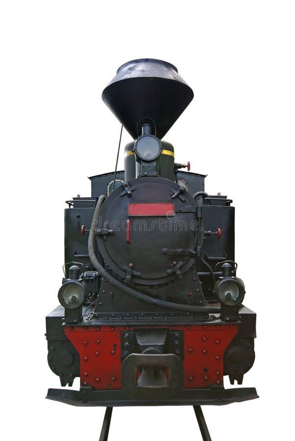 локомотивный старый пар иллюстрация вектора