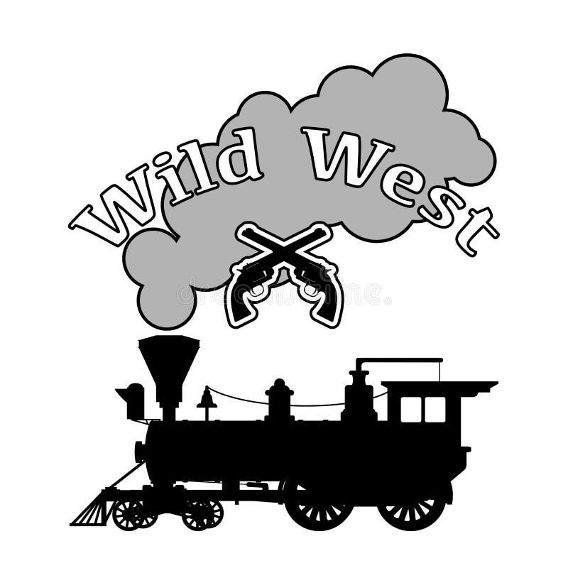 Локомотив пара силуэта бесплатная иллюстрация
