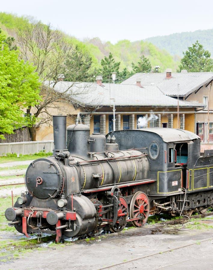 локомотив пара & x28; 126 014& x29; , Resavica, Сербия стоковое изображение