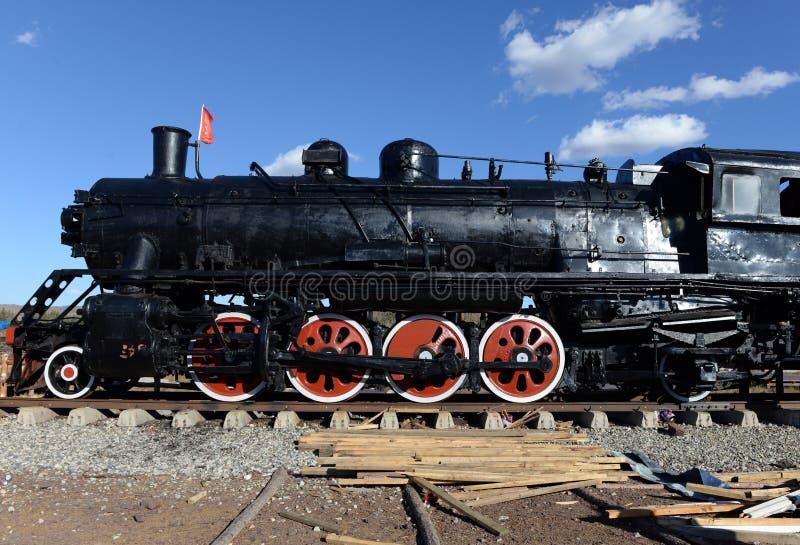 Локомотив парового двигателя стоковое фото rf