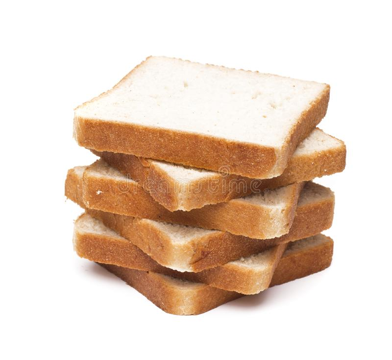 ломтики завтрака хлеба toasted стоковое изображение