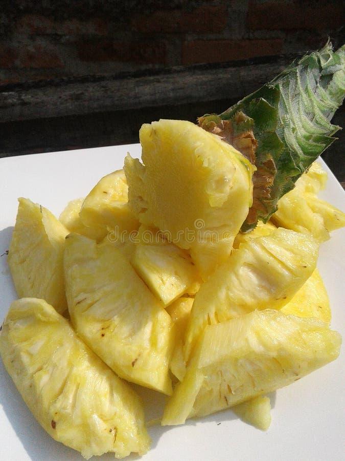 Ломтик ананаса стоковое фото rf