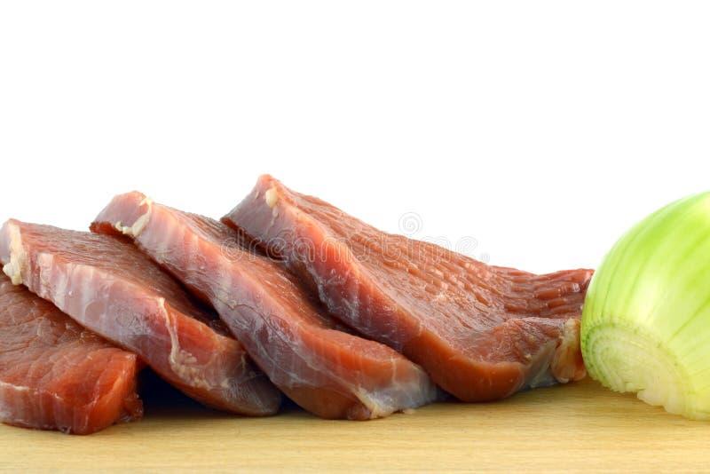 ломтик говядины стоковая фотография rf