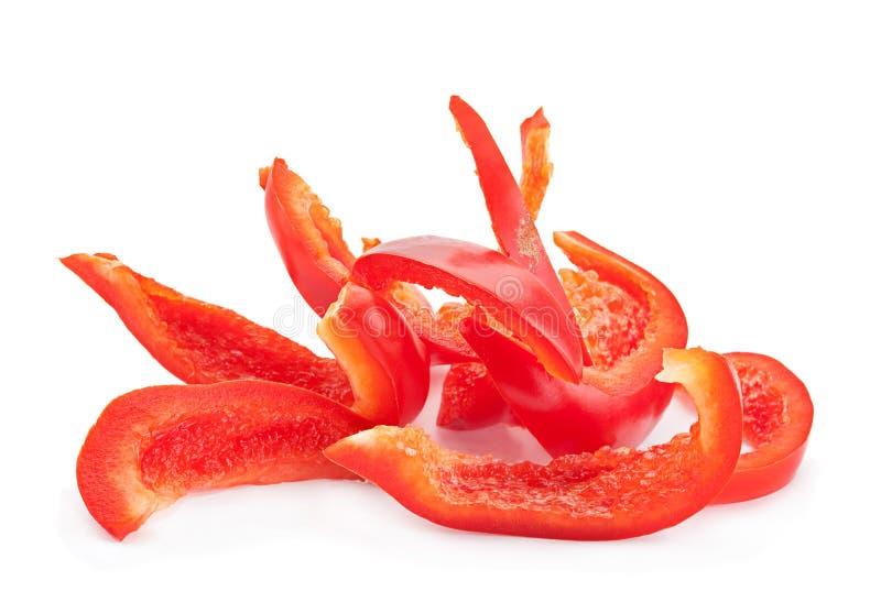 Ломтик красного перца стоковое изображение rf