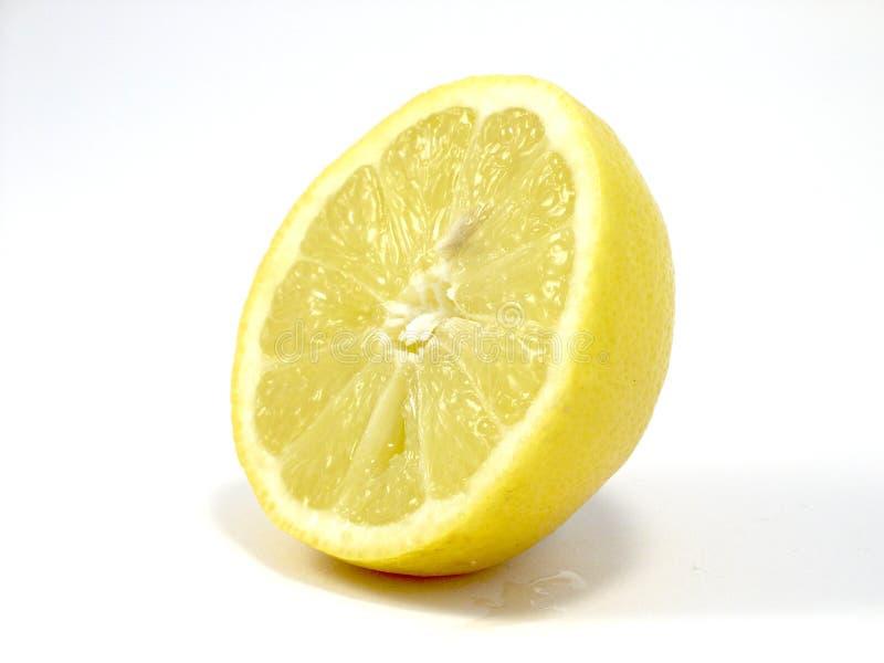 ломтик лимона стоковое изображение