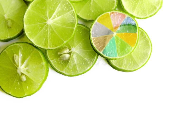 ломтик лимона стоковое изображение rf