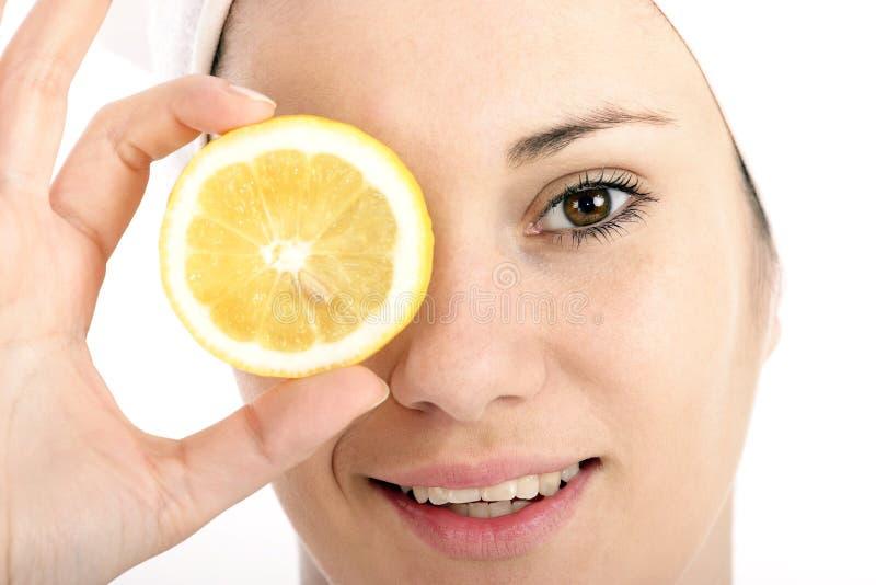 ломтик лимона стоковое фото
