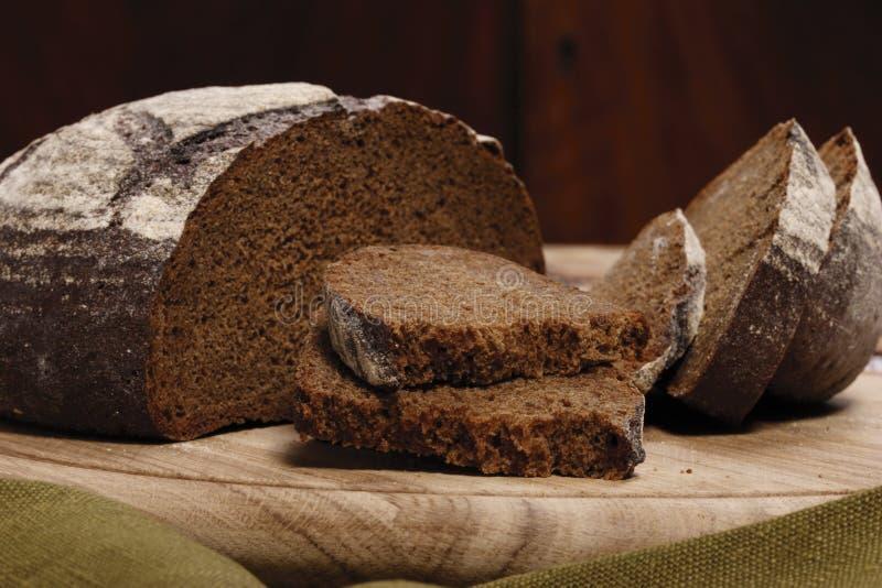 ломтик рожи хлеба стоковое фото