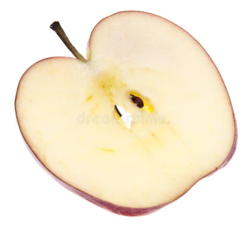 ломтик яблока стоковая фотография