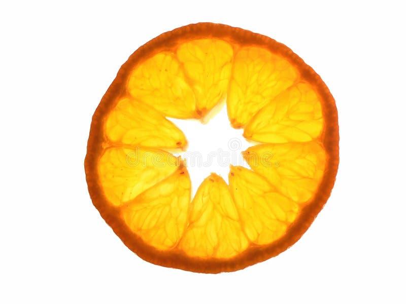 Ломтик Tangerine стоковое фото rf