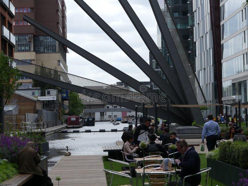 Лондон, Великобритания - 11-ое мая 2018: В ` s Paddington Лондона стоковые фотографии rf