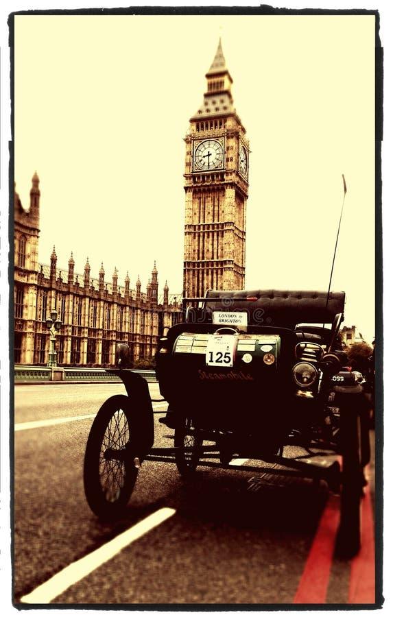 Лондон к бегу автомобиля ветерана Brighton стоковые фото