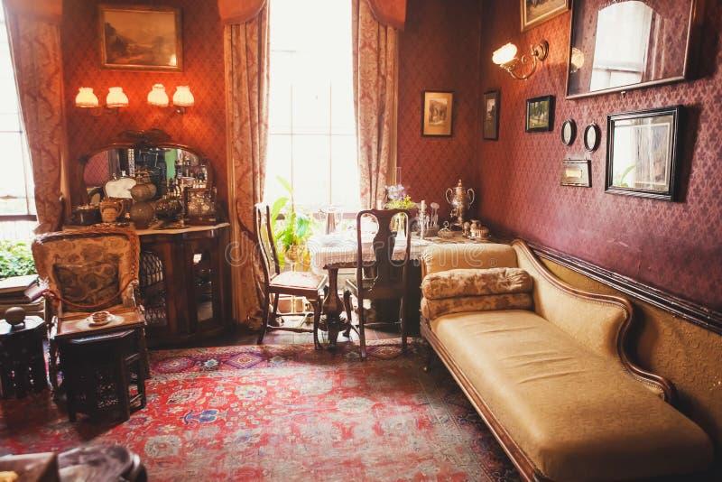 ЛОНДОН - 24-ОЕ АВГУСТА 2017: Музей Sherlock Holmes обнаружен местонахождение стоковая фотография rf