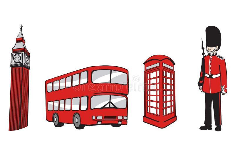 Лондон иллюстрация штока