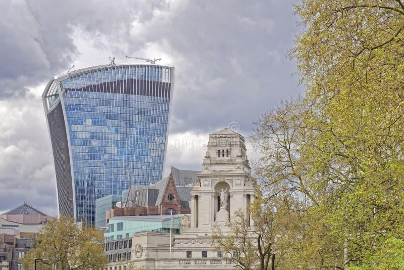 Лондон, старый и новый стоковые фото