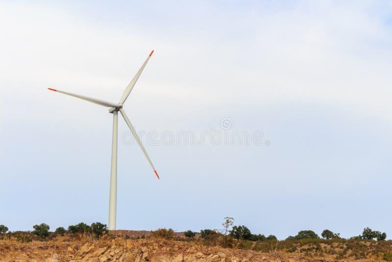 Лопасть ветра возобновляющей энергии стоковые изображения