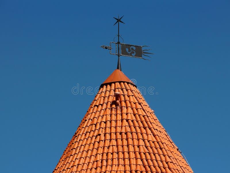 Лопасть и башня погоды стоковое фото rf
