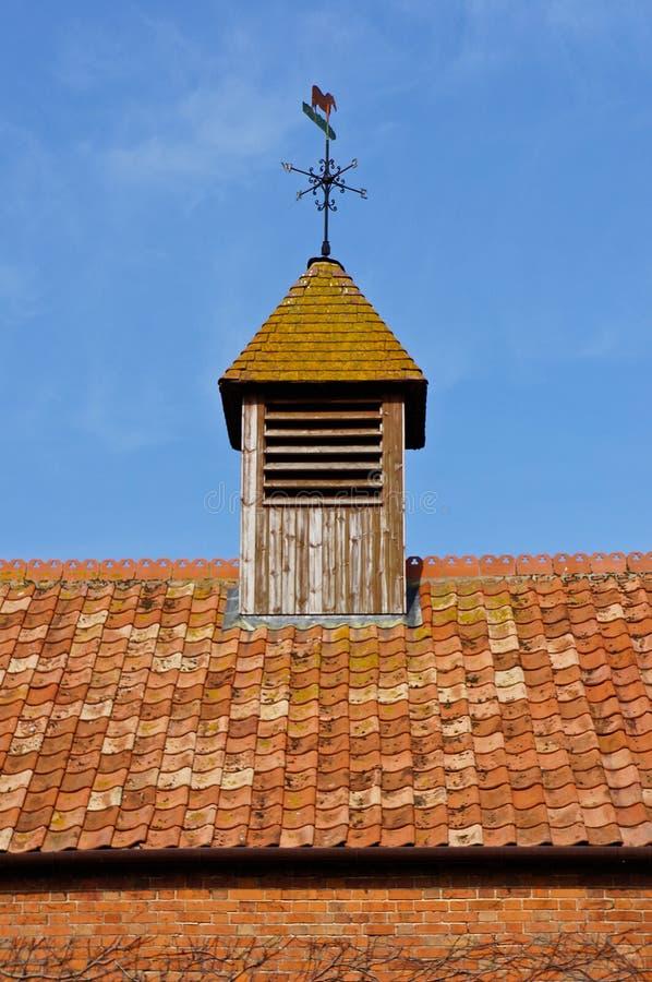 Лопасть погоды на крыше стоковое изображение rf