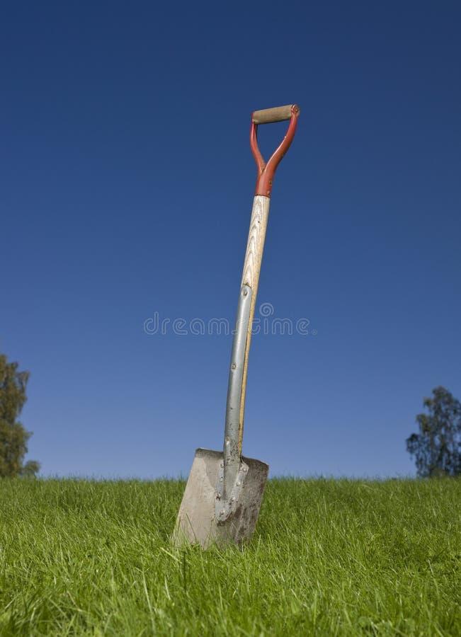 лопаткоулавливатель травы стоковое фото