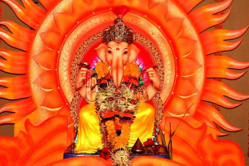 лорд бога ganesh индийский XII стоковые фотографии rf