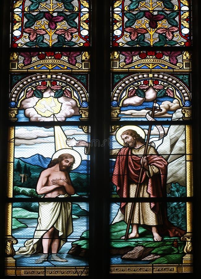 лорд крещения стоковое фото