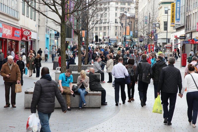 Лорд Улица Ливерпуля стоковое фото