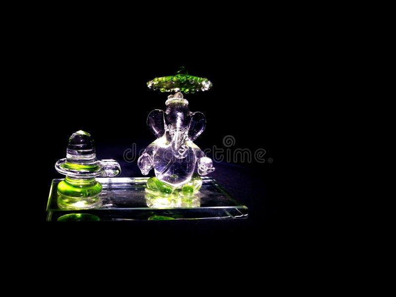 Лорд Ganesha, бог удачи стоковые фото
