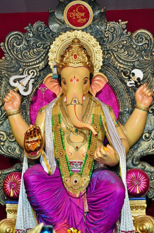 Лорд Ganesha на Мумбай стоковая фотография