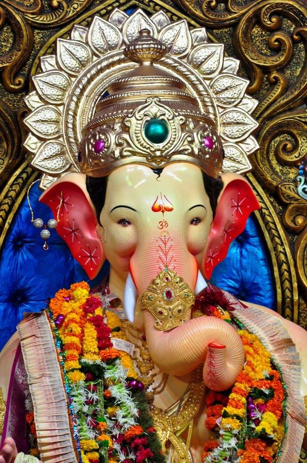 Лорд Ganesha на Lalbaug стоковые фото