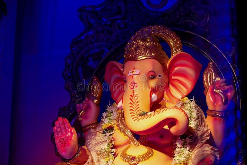 Лорд Ganesha, фестиваль Ganesha стоковые изображения rf