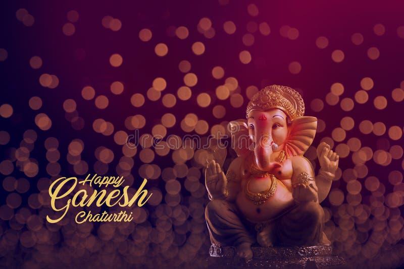 Лорд Ganesha, фестиваль Ganesha стоковое изображение rf