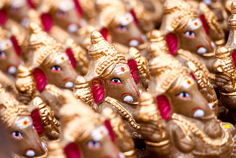 Лорд Ganesha стоковое изображение