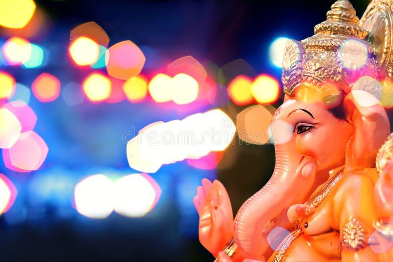 Лорд Ganesha Ganesh Chaturthi стоковая фотография