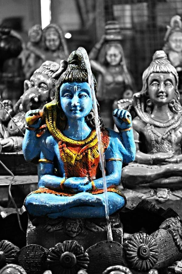 Лорд Shiva - бог людей стоковые фотографии rf