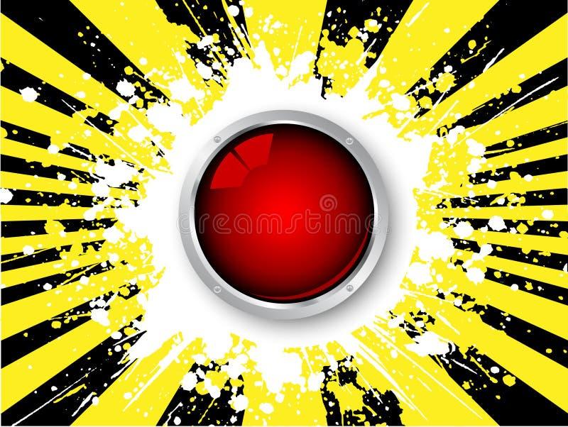 лоснистая икона grunge бесплатная иллюстрация