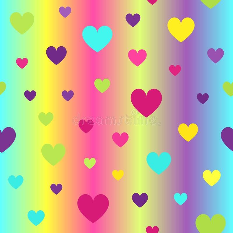 Лоснистая картина сердца r иллюстрация вектора