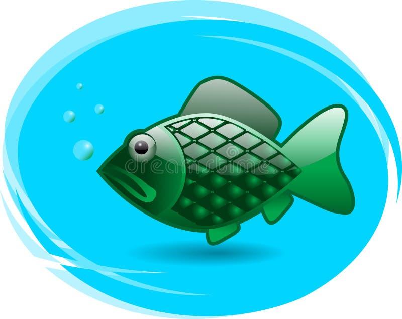 Лоснистые рыбы иллюстрация вектора