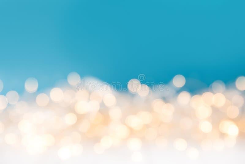 лоснистым света запачканные рождеством стоковое фото