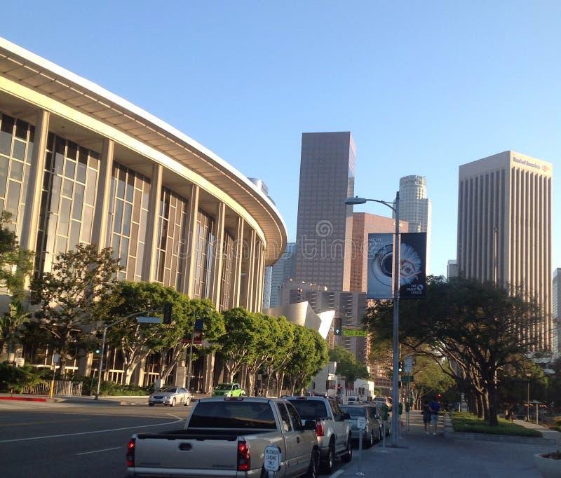 Лос-Анджелес - музыкальный центр стоковое фото rf
