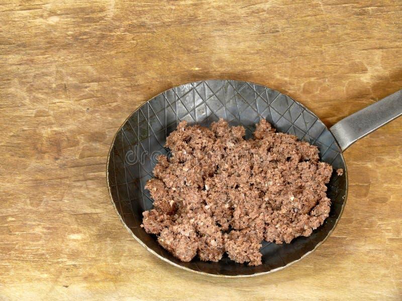 Лоток говядины стоковая фотография rf