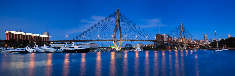 Лоток моста 45 Anzac стоковое изображение rf
