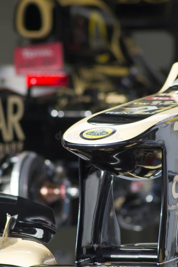 Лотос F1 стоковые фото