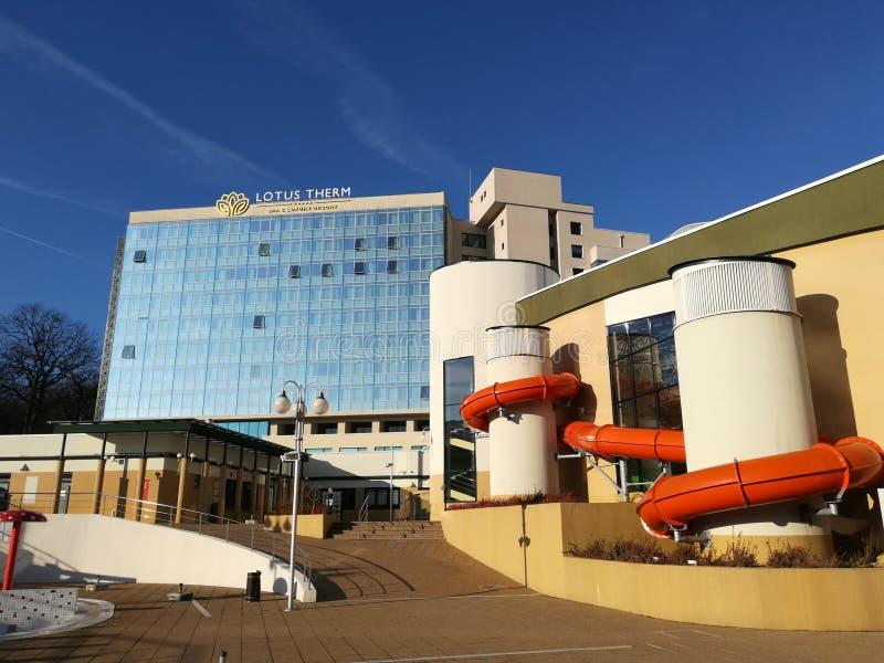Лотос Therm гостиницы - курорт & роскошный курорт стоковое фото rf