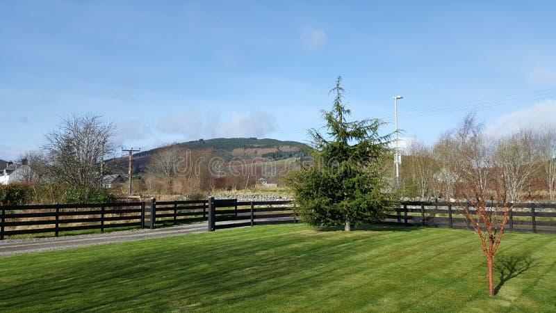 Лох-Несс Шотландия стоковая фотография rf