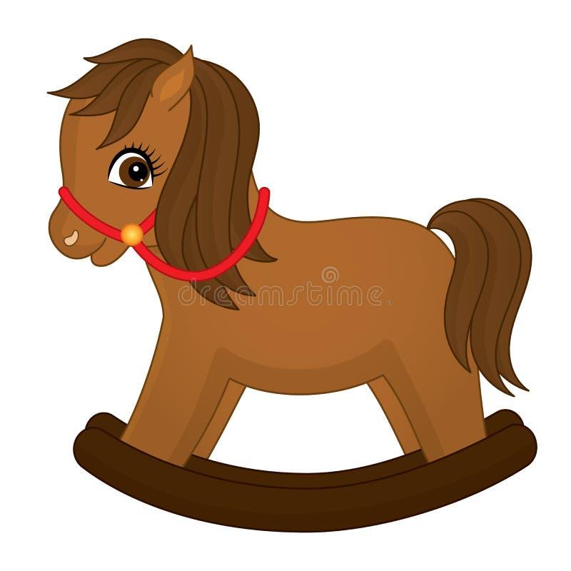 Лошадь вектора милая тряся Иллюстрация вектора тряся лошади иллюстрация штока
