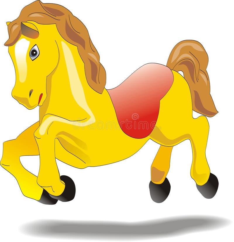 лошадь персонажа из мультфильма младенца одушевленност иллюстрация вектора