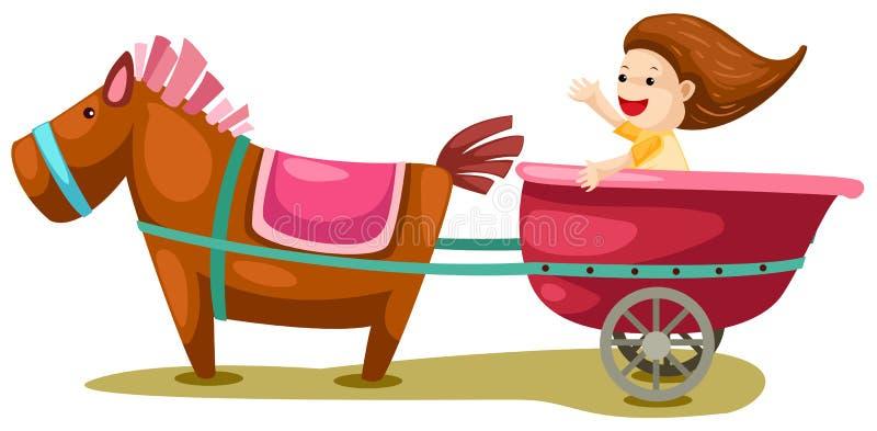 лошадь экипажа бесплатная иллюстрация