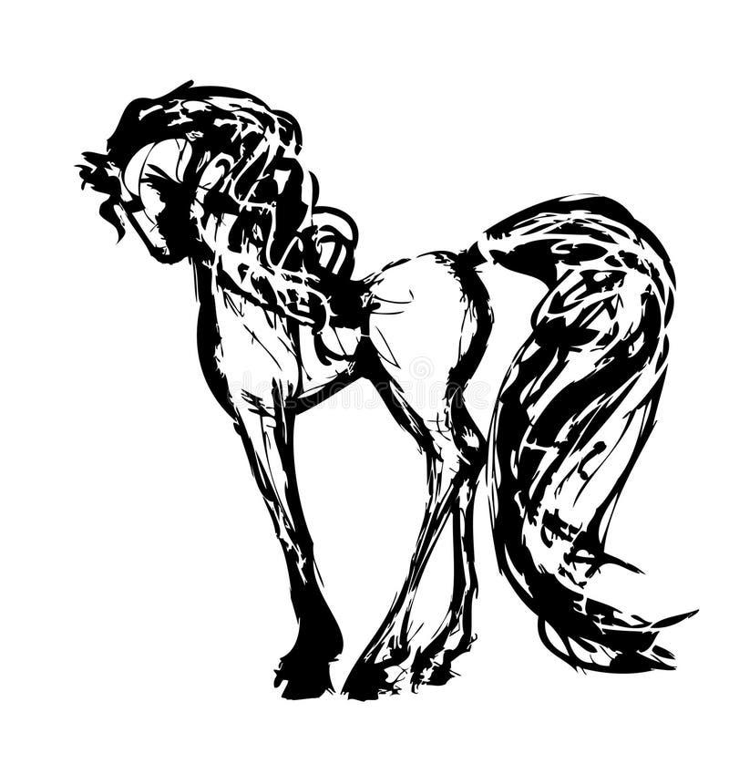 лошадь иллюстрация вектора
