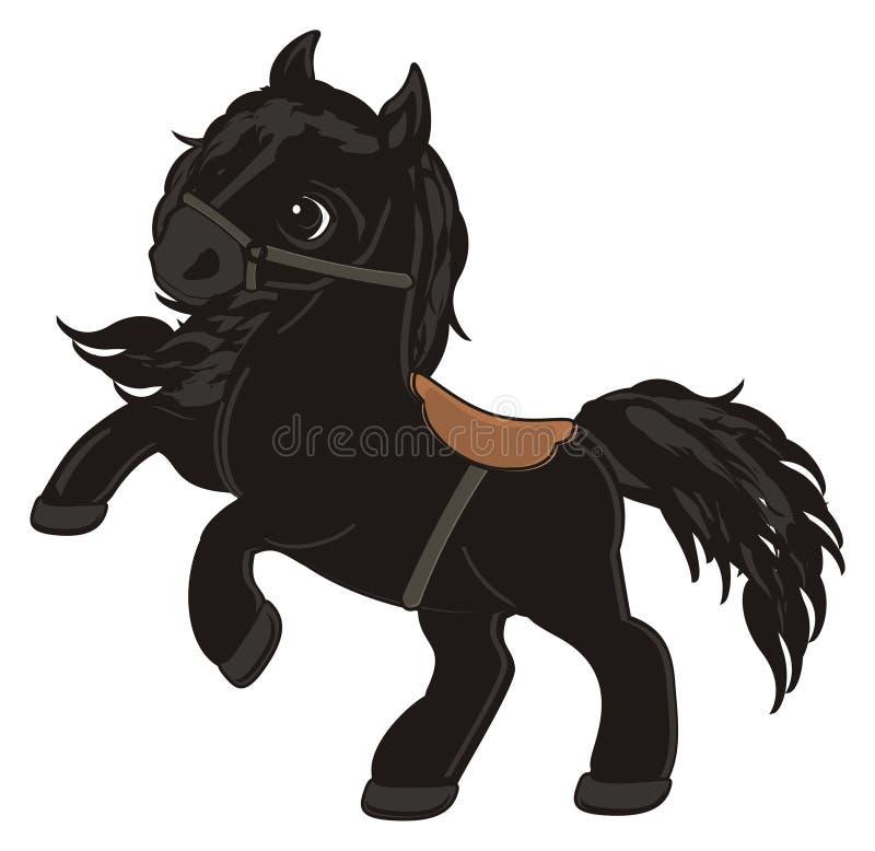 Лошадь и проводка бесплатная иллюстрация